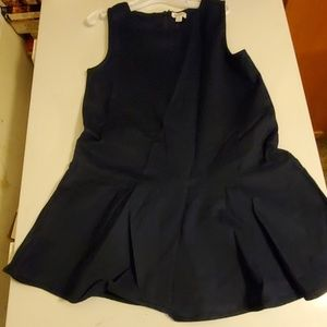 Gymboree  navy uniform dress size 7